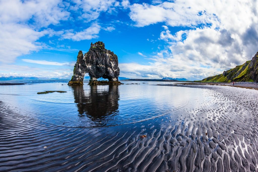 Hvitserkur northwest Iceland