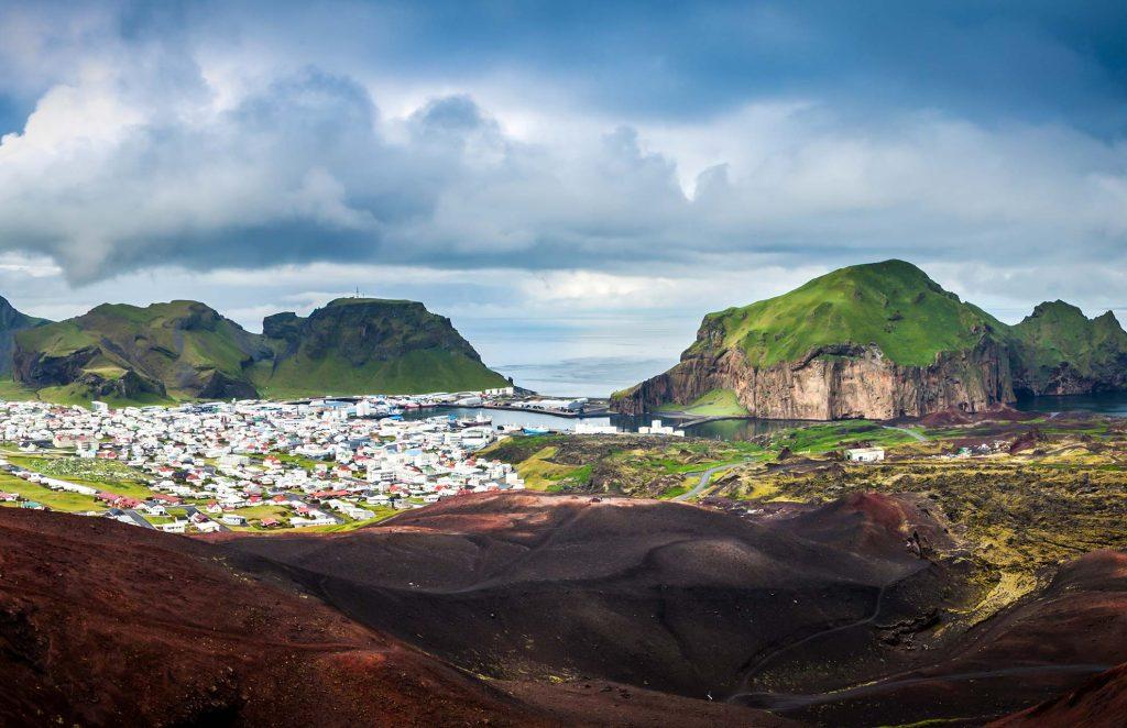 Vestmannaeyjar islands Iceland