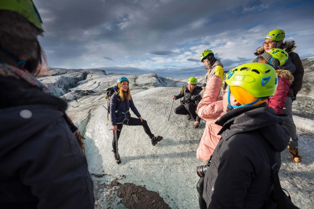 Skaftafell Glacier hike - Southeast Iceland