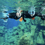 Snorkeling in Silfra and Golden Circle