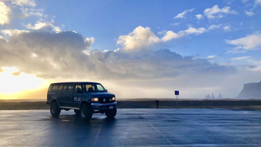Super Jeep tour from Vik